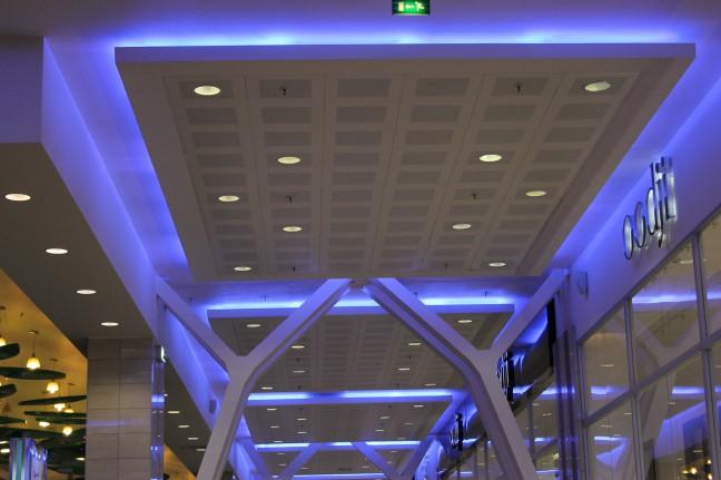ТК Гранд Каньон. Потолок с подсветкой