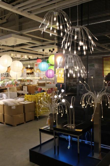 ИКЕА. Красивые люстры и светильники. Фото на камеру Canon EOS 1100D